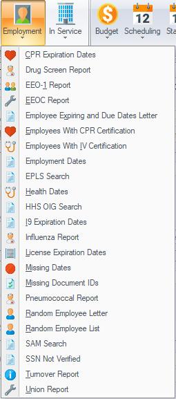 Reports Sbv Workforce Management